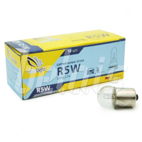 Лампа накаливания «ClearLight» R5W (12V, BA15S)
