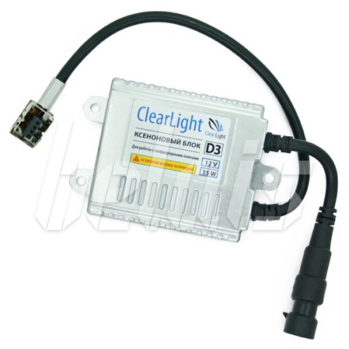 Блок розжига D3 «ClearLight» Slim (9-16V, 35W, тонкий) AC